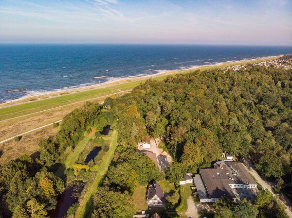 Luftbild Ostsee-Ferienkolonie